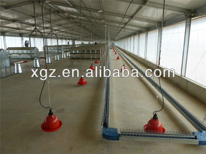 prefab automatic poultry farm house