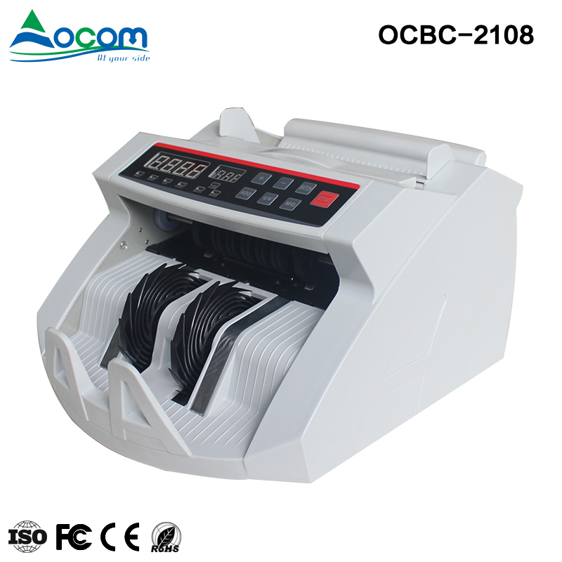 OCBC-2108: glory bank note counters with paper money banknote detector