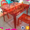 HOT SALE! New Design Knock Down Plastic Table For Wedding