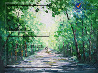 Beautiful Nature Acrylic Landscape Oil Paintings On Canvas
