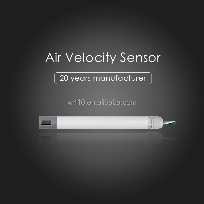 Application for security systems air flow transmitter with Consumption 0.3W