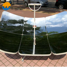 0.7mm thickness rectangle Shape portable parabolic solar cooker