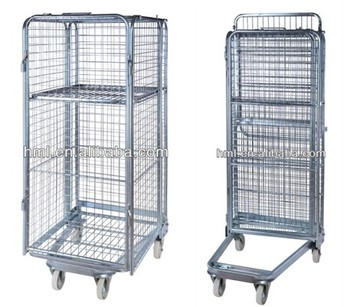 stackable mesh laundry carts and trolley - Laundry Carts