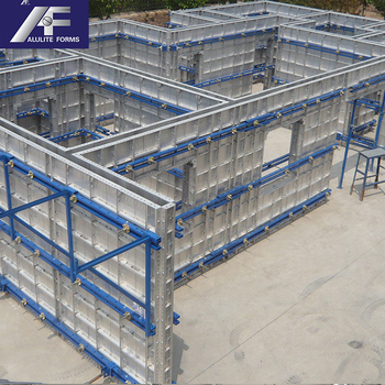 Aluminum Wall Panel Concrete Construction Formwork Concrete Forms For Walls