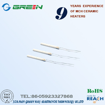24v 50w Ceramic Heating Element With Thermocouple Hole For Soldering  Machine - Buy Ceramic Heating Element,24v 50wceramic Heating  Element,Ceramic