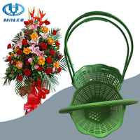 plastic flower basket for wedding decoration or Business anniversary