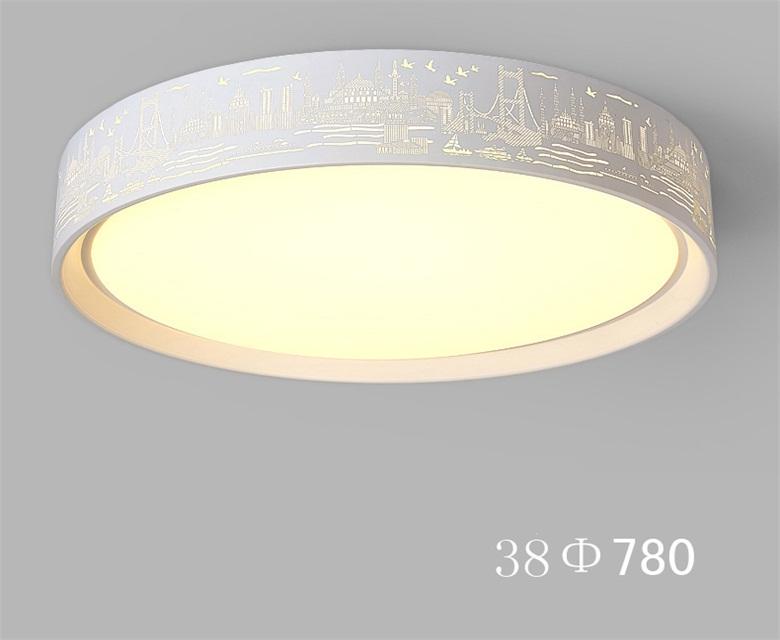 Die kreisförmige romantische 72 watt 128 watt led deckenleuchten