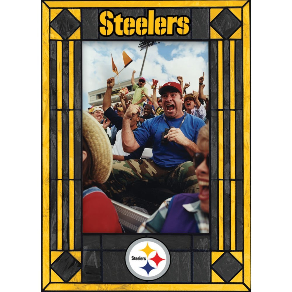 Pittsburgh Steelers Art Glass Frame