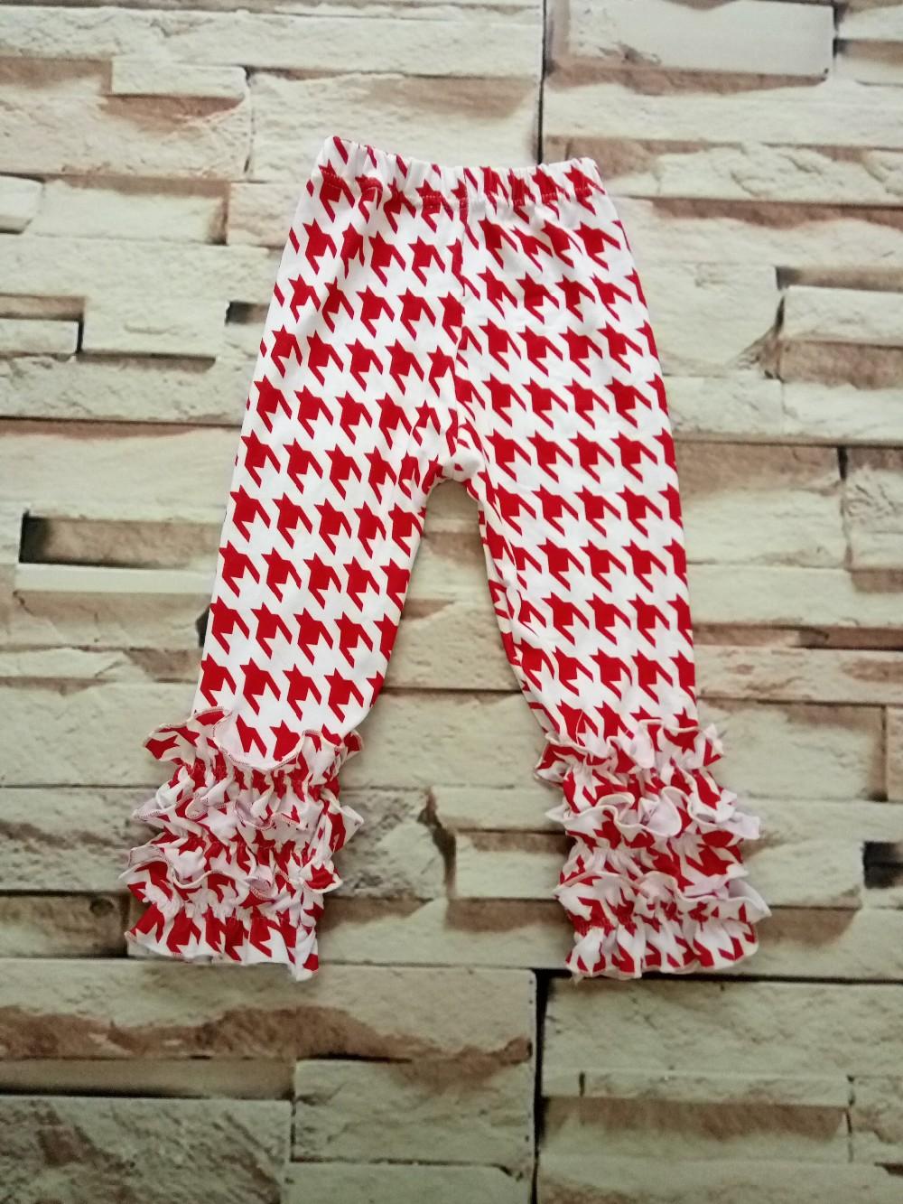 Houndstooth Boutique Ruffle Pant Children Triple Ruffle Pants ...