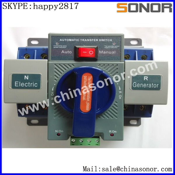 Q3W 3 Phase Ats Controller Saklar Transfer Otomatis Switch