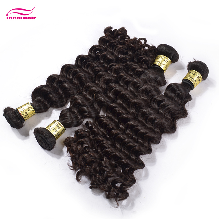 10a virgin overseas hair vendors spanish curly hair extensions,colored human hair, darling peruvian deep wave she's happy hair
