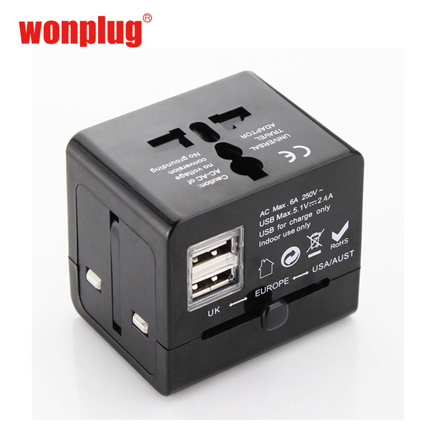 fashion best travel accessories australia travel adapter with 2 usb ports