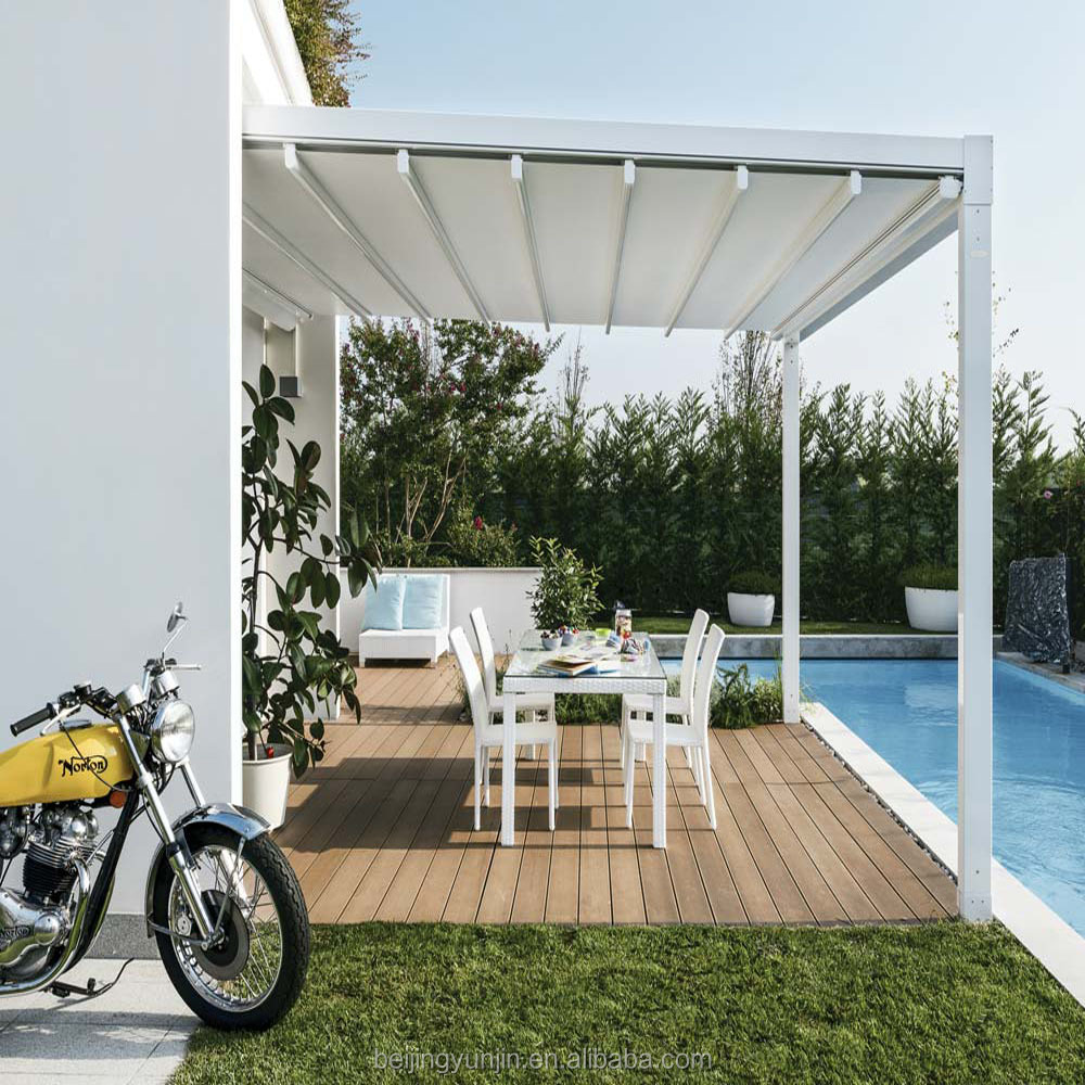 Cheap automatic retractable awning windproof awnings, View ...