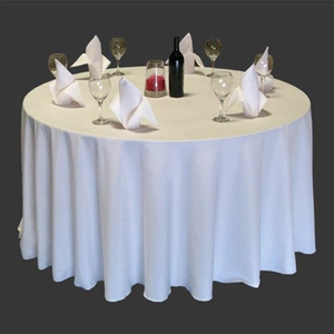 220gsm white cloth table cloths for hotel and restaurant