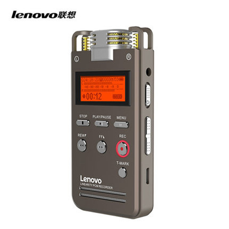 Digital voice recorder mp3 player PCM linearity recording with external microphone