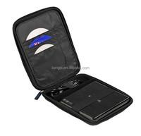 Black EVA Travel Hard Case Cover Sleeve for External USB DVD CD
