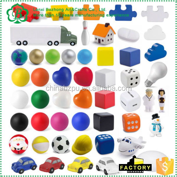Anti Stress Reliever Ball ADHD Autism Mood Squeeze Toy Hand Exercise BN