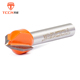 TCCN China 6.35-50.80mm V Type TCT Router Bit Milling Cutter For Woodworking