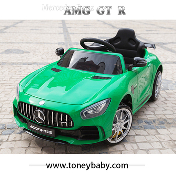 New Licensed Amg Gtr Electric Ride On Kids Car