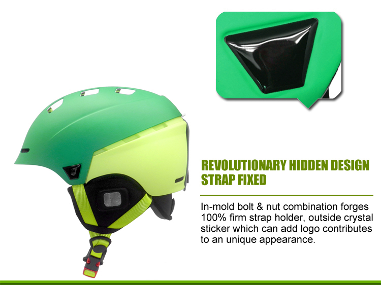 High Quality Ski Helmet With Visor 8