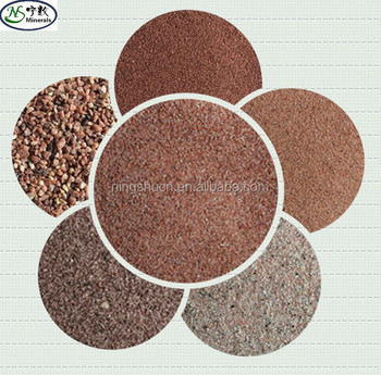 China Red South Africa Red Coffee Red building natural color sand manufacturer