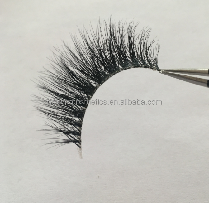 Qing Dao Wholesale 100% Mink Eyelash With Good Quality Natural Looking False Eyelashes