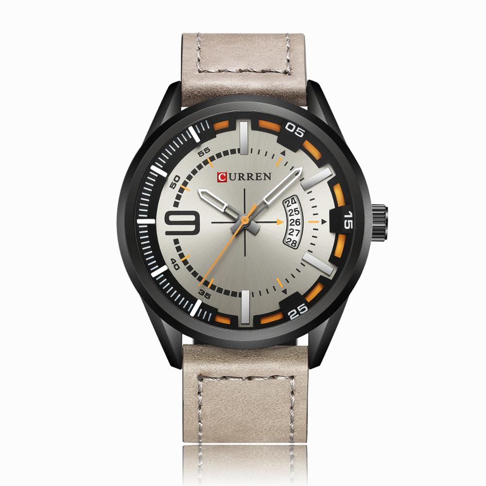 Curren 8295 Hot Sell New Top Brand Mens Sport Wristwatch With Auto <strong>Date</strong>