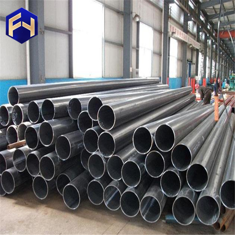 grooved steel pipes black corrugated drainage pipe big size square tube 300x300 mm made in China