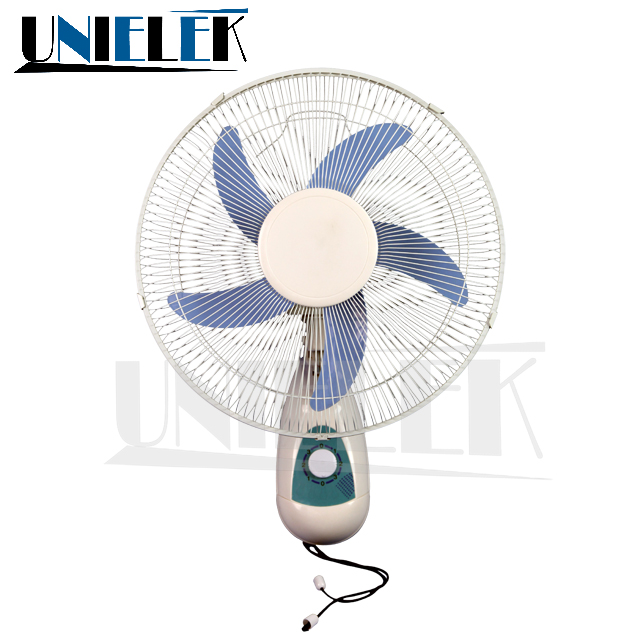 Wall Mounted 16 Rechargeable Solar Battery Operated Fan High Rpm 12v Dc