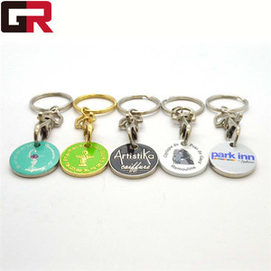 Custom Metal Soft Enamel/ Laser Engraving Token Key Chain