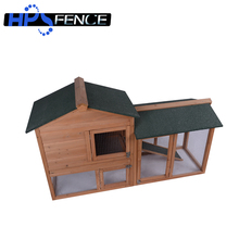 Roomy animal poultry backyard wooden chicken coop