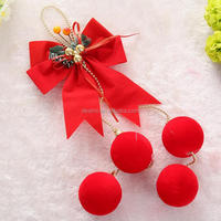 DEMIZXX638 Custom Size New Fashion Red Color Holiday Ornaments Hanging Drop China Offer Style Wholesale Christmas Decorations