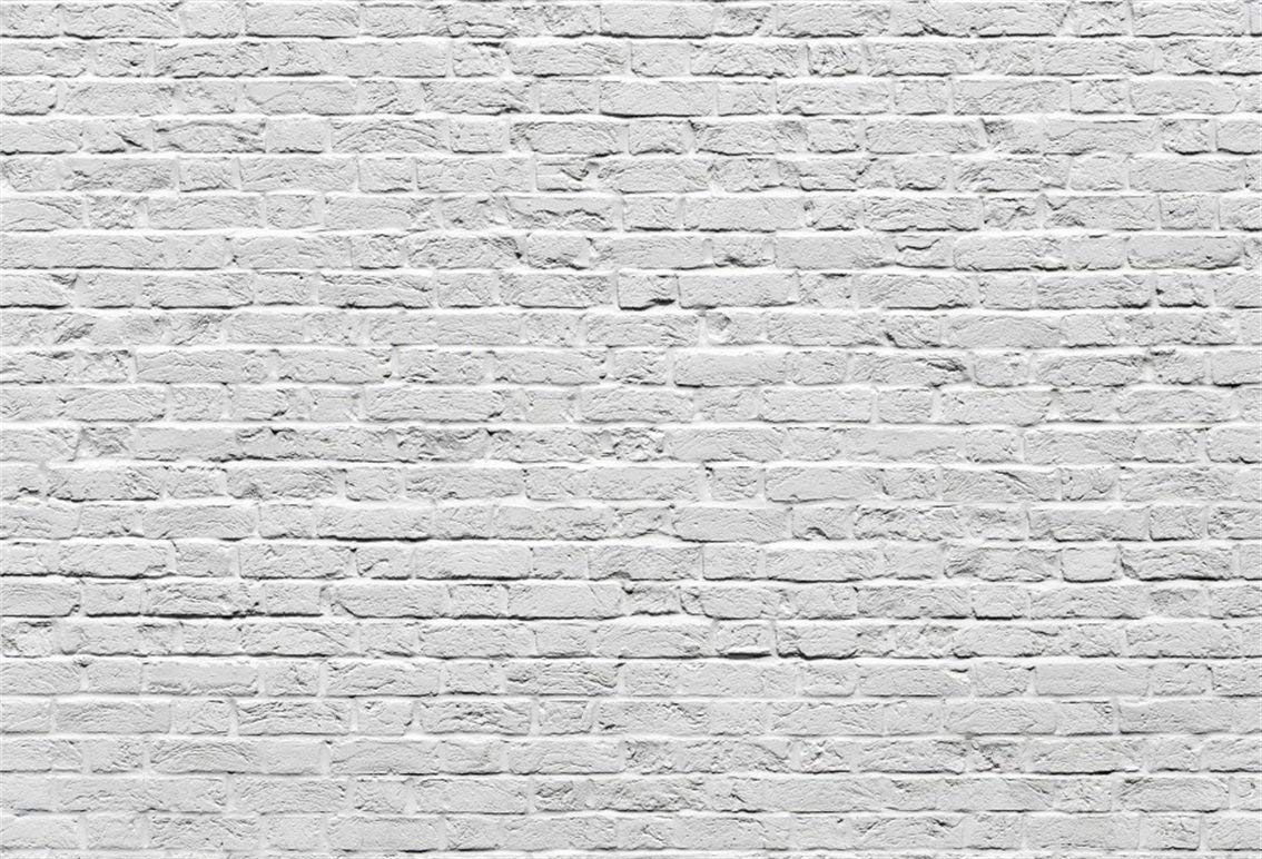 Buy Csfoto 7x5ft Background For White Gray Brick Wall Photography Backdrop Rough Aged Brick Wall Clean Urban Building Grunge Surface History Abstract Brick Wall Photo Studio Props Polyester Wallpaper In Cheap Price