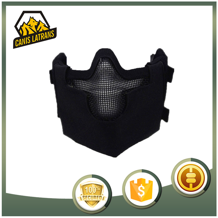 Latest Design Military Cheap Paintball Tactical Half Face Mask