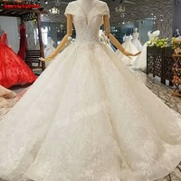 850011 New Sleeveless Luxury Fashion Wedding Dresses 2018 Off Shoulder Sexy Sequined Diamond Bridal Wedding Gowns Real Photo