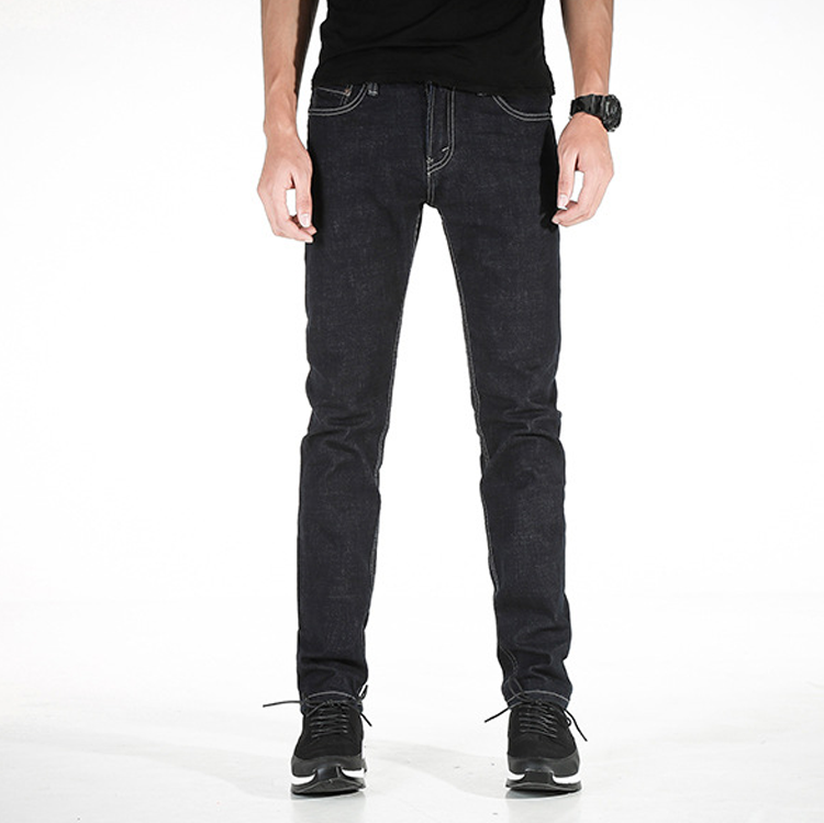 Denim clothing factory oem custom new model man slim fit jeans