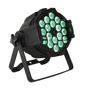 Three Years Warranty Tough Par Quadra DMX Wash Par64 6in1 RGBWAUV 18*18w DMX LED Stage Par Light