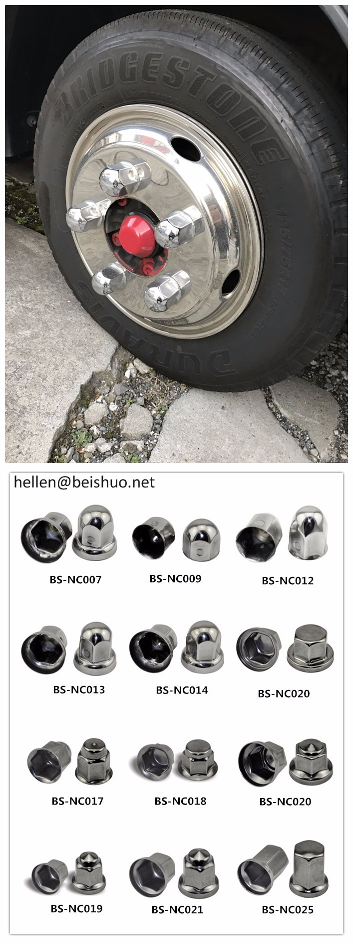8d45cc79a58 Beishuo 33Mm China Suppliers Cheap Semi Truck Nut Cover Caps Wheel Caps