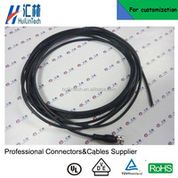 8pin 2 .5 meter PUR M12 circular connectors cable