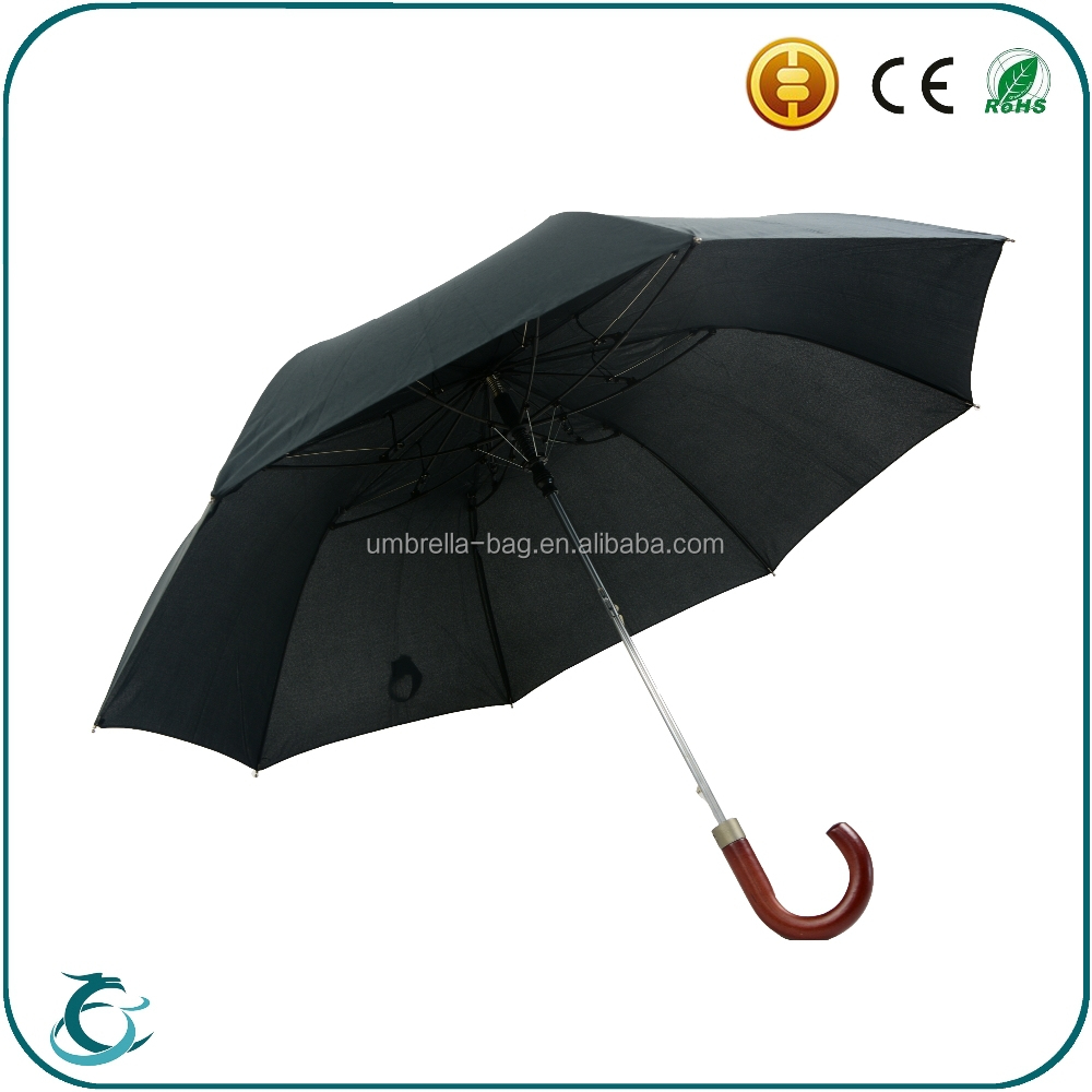 2016 wholesale high quality fiberglass frame 2 fold rain umbrella