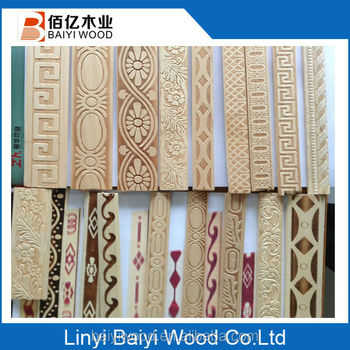High Quality Wood Moulding For Decorative Furniture Floor