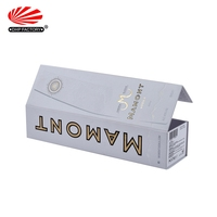 Creative Cardboard Foldable Gift Storage Cheap Wine Box for 375ml bottle