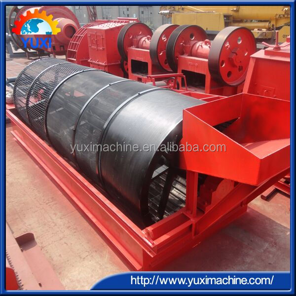 2017 Hot Sale Alluvial Sand mini gold wash plant small gold placer mining equipment/Gold mining trommel screen machine