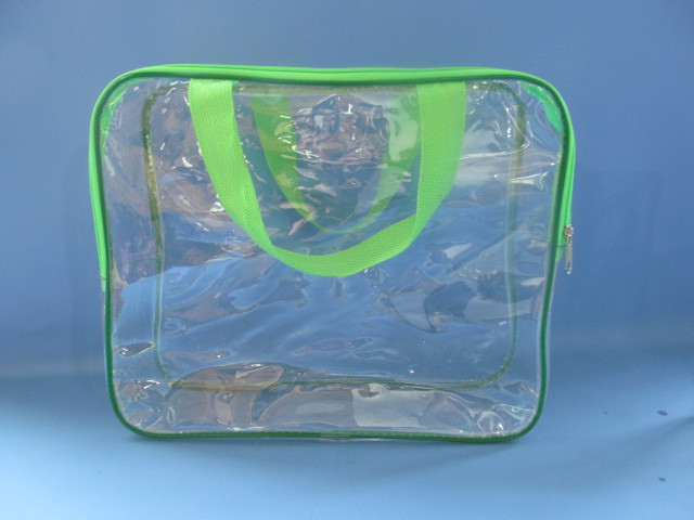 Free sample!pvc clear plastic pillow bag with strap(SD-PB-068)