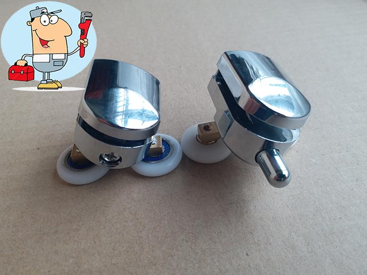 Chrome Shower Wheels Roller For Sliding Shower Doors