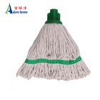 100% cotton mop head with plastic socket