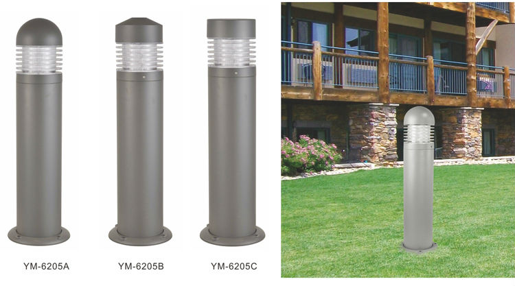 Decorative Bollard outdoor light garden led bollard lights lawn lamp landscape path