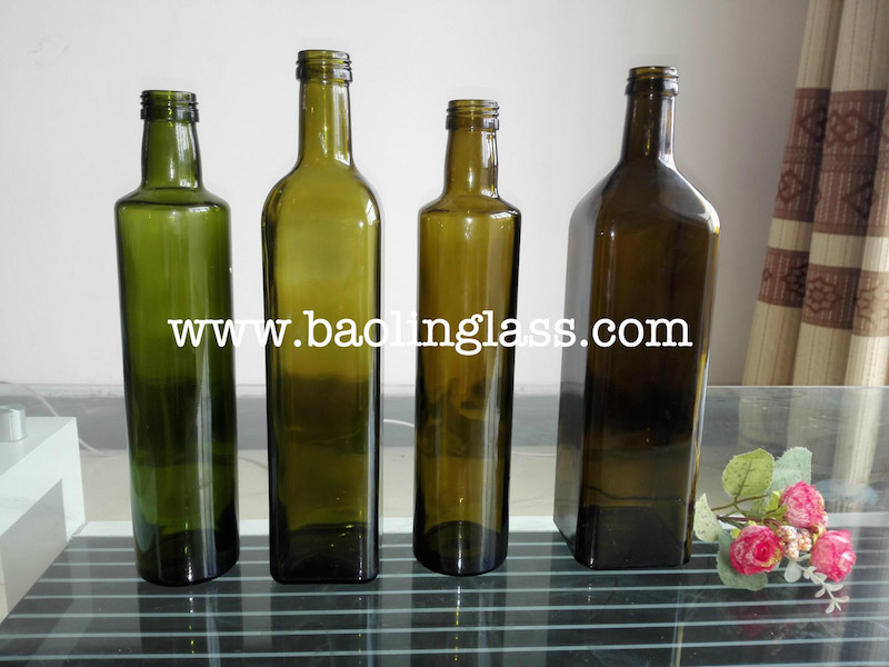 500ml marasca dorica virgin olive oil glass bottle