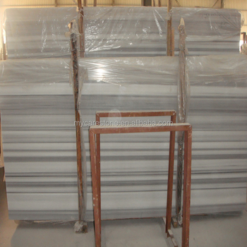 Wholes White Stripe Marble Slab And Tile