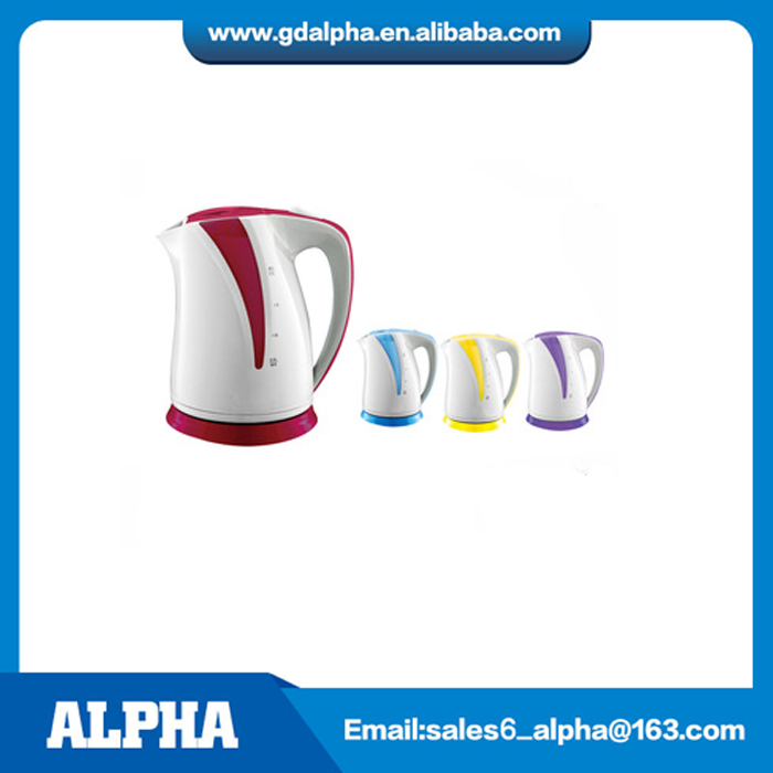 2 liter large capacity PP plastic electric kettle with water window